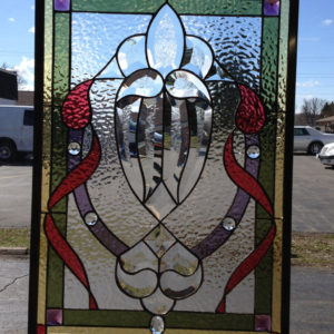 MMS Finished Bevel Stained Glass Panel