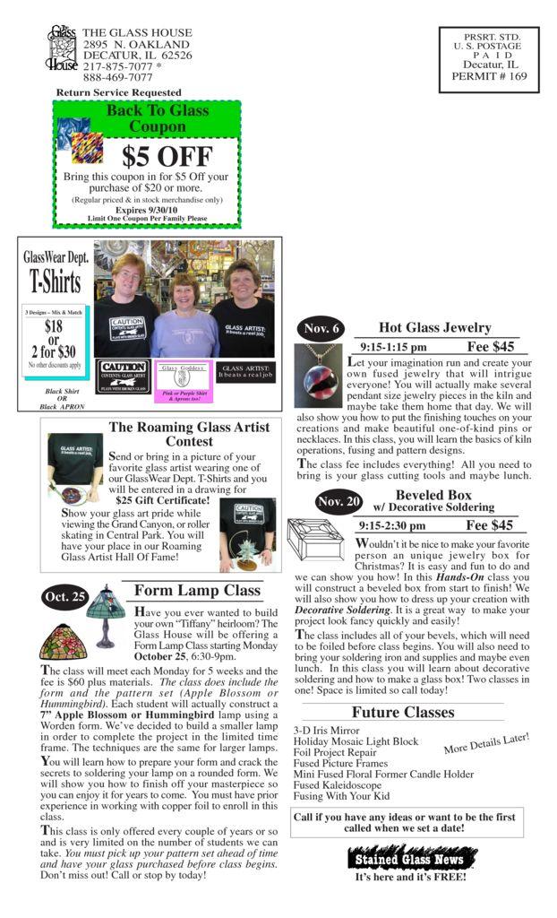 thumbnail of Sale Flier Sept Back 2010