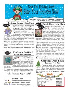 thumbnail of Stained Glass Sale Flier November 2013