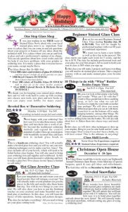 thumbnail of Stained Glass Sale Flier November 2014