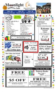 thumbnail of Stained Glass Sale Flier October 2015
