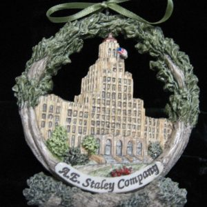 Decatur A.E. Staley Christmas Ornament
