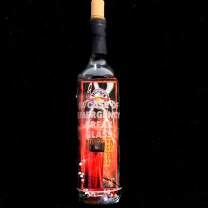 In case of emergency break glass fireworks emergency kit