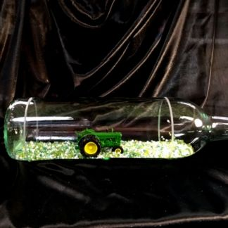 John Deere Tractor in a Bottle