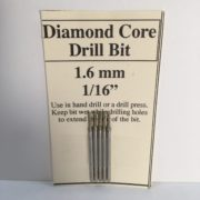 "1/16"" Diamond Glass Drill Bit (1.6 mm)"