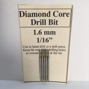 """1/16"""" Diamond Glass Drill Bit (1.6 mm)"""