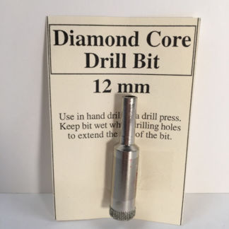 12 mm Diamond Core Glass Drill Bit
