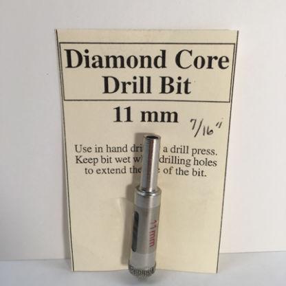 "7/16"" Diamond Core Glass Drill Bit (11 mm)"