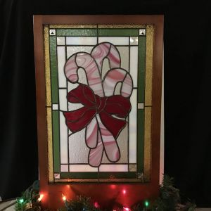 Candy Cane Panel - Sweet Tooth's Paradise Class