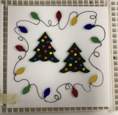 Santa Cookie Plate Class 11/17 x
