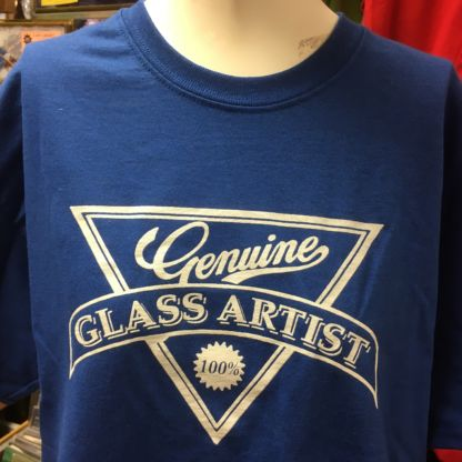 Genuine Glass Artists T Shirt - Blue