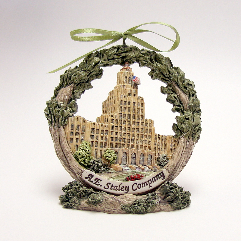 A. E. Staley Decatur Ornament