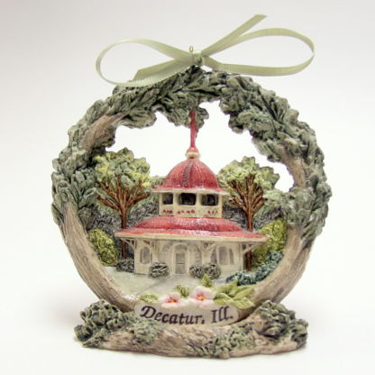 Decatur Transfer House Christmas Ornament