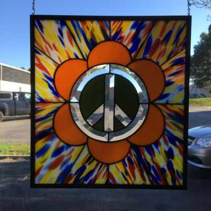 Peace Bevel Cluster Panel