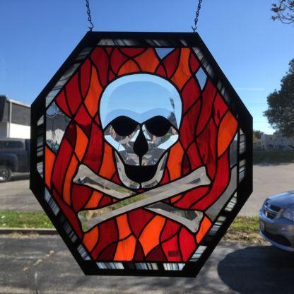 Skull Bevel Cluster Panel