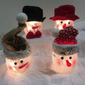 Snowman Decorative Table Lights