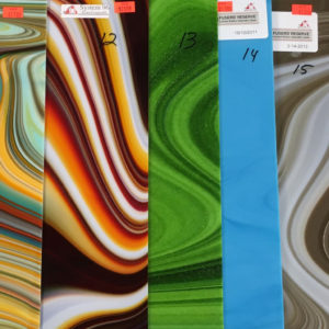 Spectrum Fusers Reserve 11, 12, 13, 14 and 15 glass sheets