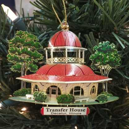 Decatur Transfer House Ornament 2-D Ornament