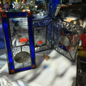 Illini and University of Illinois Stained Glass Picture Frame