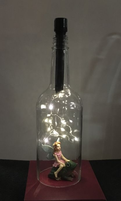LED Wine Bottle Cork Lights for starry lamp look