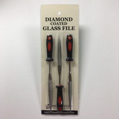 Diamond glass file set