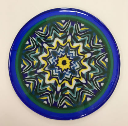 small kaleidoscope triangle plate