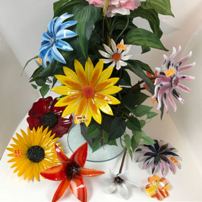 Fused Glass Flowers Class