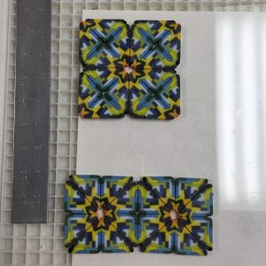 Laying Out Cut Pattern Bars for Second Firing - Pattern Bar Class
