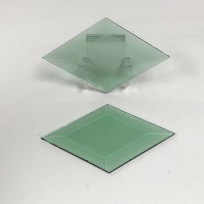 Green diamond glass bevel representative