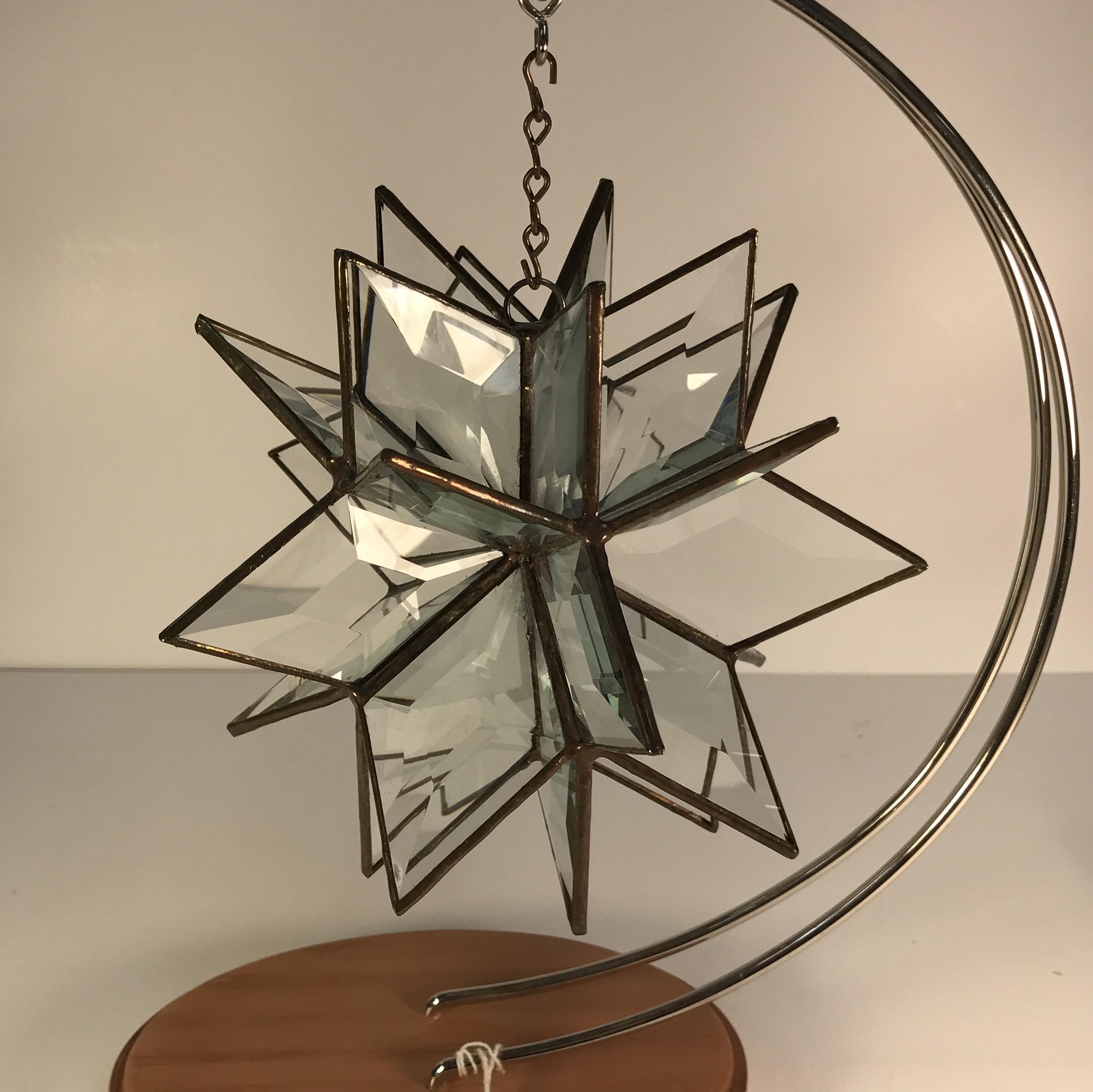 Ultimate 3D Snowflake Suncatcher Beveled Glass Kit