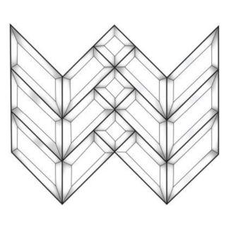 Beveled Glass Cluster - MEC 100