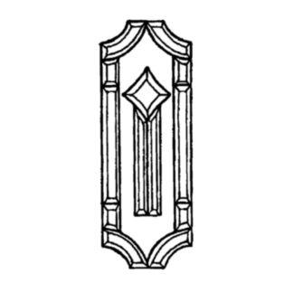 Beveled Glass Cluster - MMS 6011