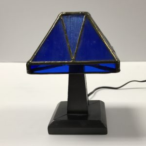 Blue Tiffany Junior Lamp