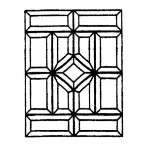 Glass Bevel Cluster - MR 579