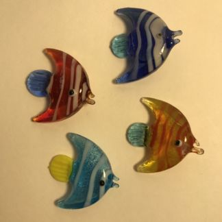 Miniature glass fish