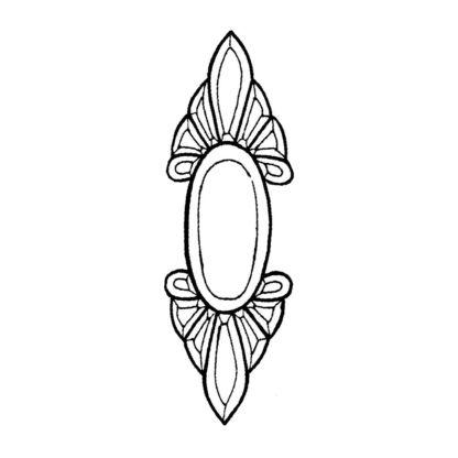 Beveled Glass Cluster - BC 36