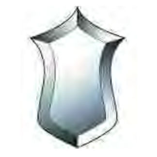 MMS Beveled Glass Cluster - TGP 100