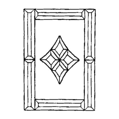 Beveled Glass Cluster - MMS 3055