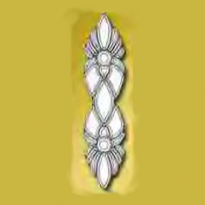 Glass Beveled Clear Cluster - MPCL 106