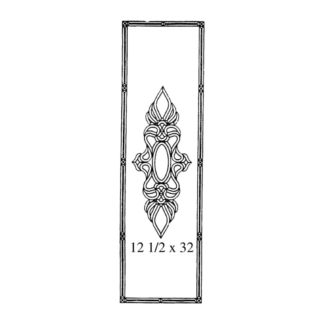 Clear Beveled Glass Cluster - MR 511