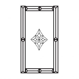 Beveled Glass Cluster - MMS 200
