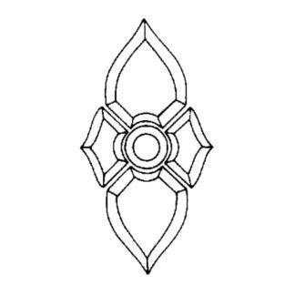 Beveled Glass Cluster - TIV 01