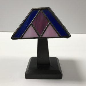 Pink/Blue Tiffany Junior Lamp