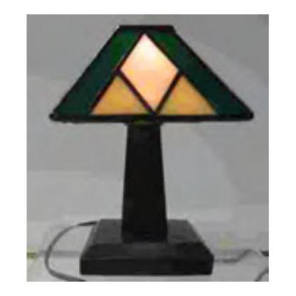tiffany junior lamp base prarie style