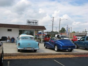 Vinnie's Barbee Q car show at Drive-in Antiques