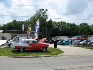Vinnie's Car Show at the Drive-In Antiques