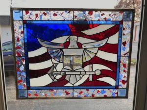 Navy panel