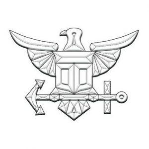 Navy Beveled Glass Cluster – MEC 281