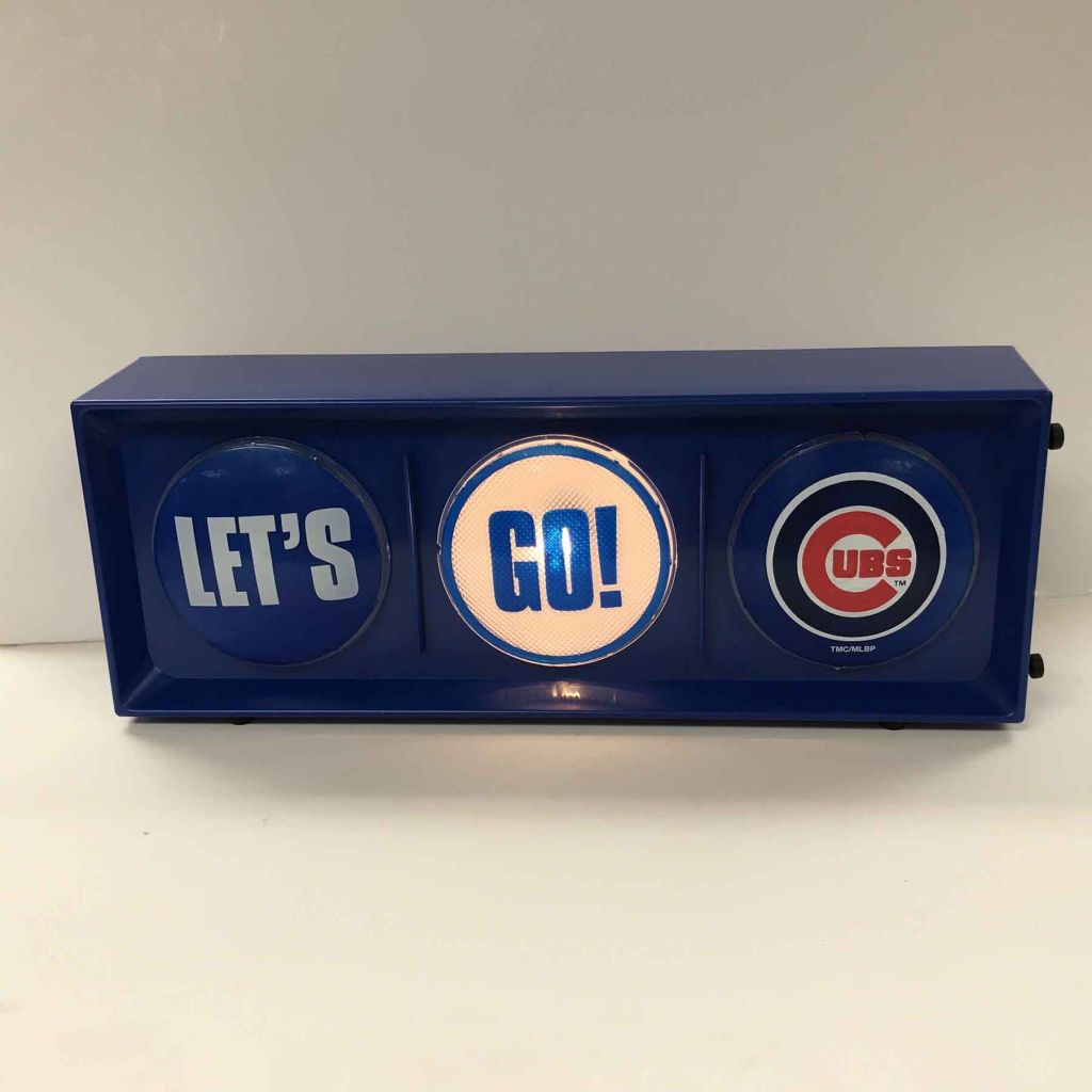 Chicago Cubs Let's Go CubsLight