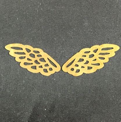 Angel Wings Brass Filligree 8463